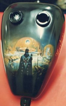 Custom Motorcycle Paintwork